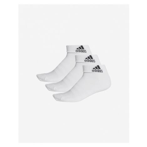 adidas Performance Cush Set of 3 pairs of socks White