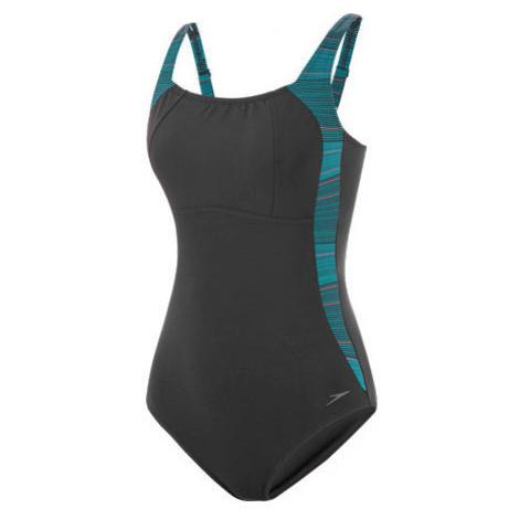 Speedo LUNALUSTRE PRINTED 1 PIECE - Women's one piece swimsuit
