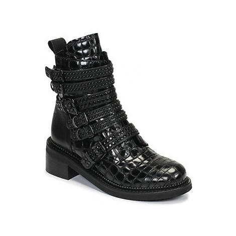 Mimmu RIPTILUS women's Mid Boots in Black