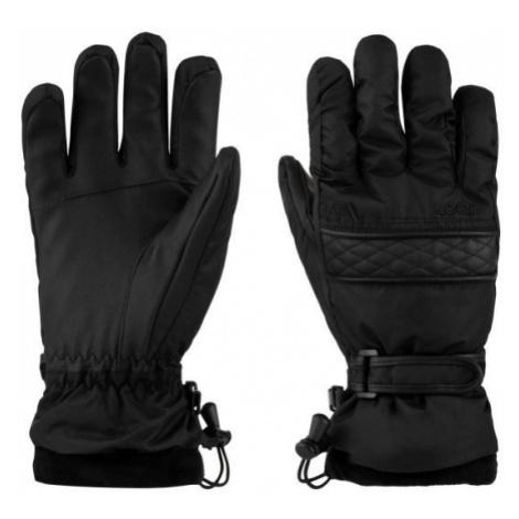 Loap ROZARKA black - Women's gloves