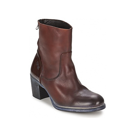 BKR LOLA women's Low Ankle Boots in Brown