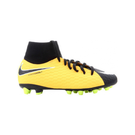 Nike JR Hypervenom Pheln 3 DF Agpro 917770 801 boys's Children's Football Boots in Multicolour