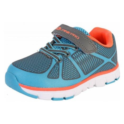 ALPINE PRO FISHERO blue - Children's sports shoes