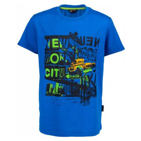 Lewro RIGBY blue - Boys' T-shirt