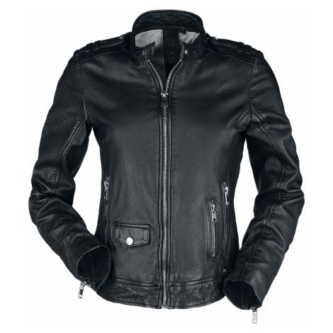 Gipsy - G2GShandi Slim Fit LASUV - Girls leather jacket - black