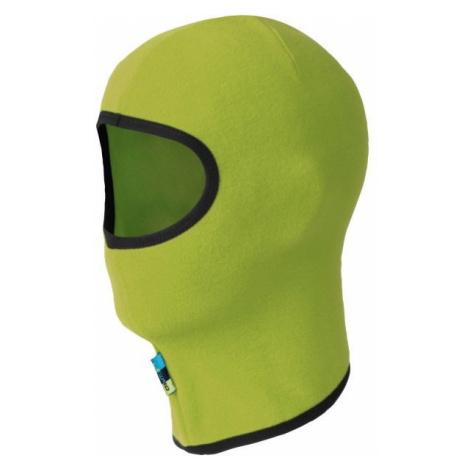 Lewro NITYA green - Kids' fleece face mask