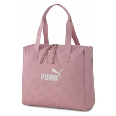 Puma CORE UP LARGE SHOPPER pink - Women's handbag