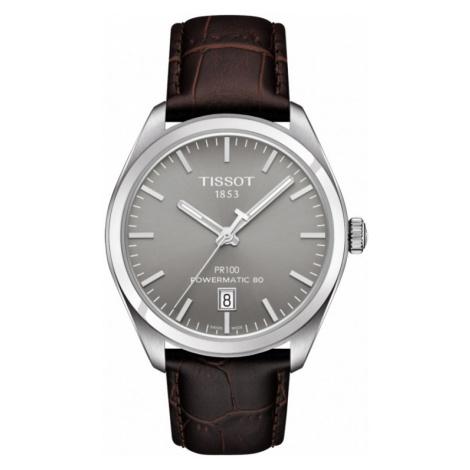 Mens Tissot PR100 Powermatic 80 Automatic Watch T1014071607100