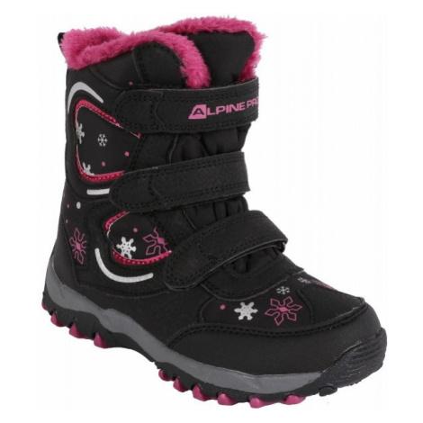 ALPINE PRO KABUNI black - Kids' Winter Boots