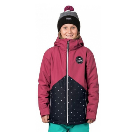 Horsefeathers JUDY KIDS JACKET pink - Girls' winter ski/snowboard jacket