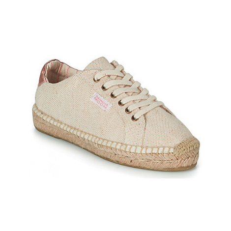 Banana Moon PACEY women's Shoes (Trainers) in Beige
