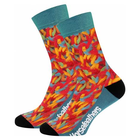 socks Horsefeathers Primus - Worms - men´s