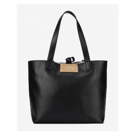 Trussardi Jeans Luna Medium Handbag Black Grey