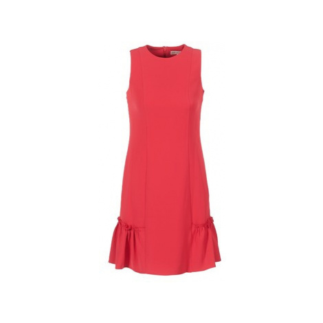 MICHAEL Michael Kors SLEEVESLESS RUFFLE DRS women's Dress in Red