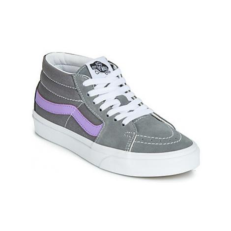 Vans SK8-MID women's Shoes (High-top Trainers) in Grey