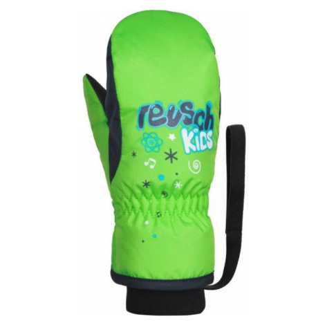 Reusch KIDS MITTEN green - Kids' ski gloves