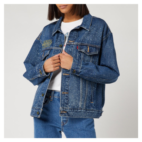 Levi's X Star Wars Women's Dad Trucker Jacket - May The Force Be with You Levi´s