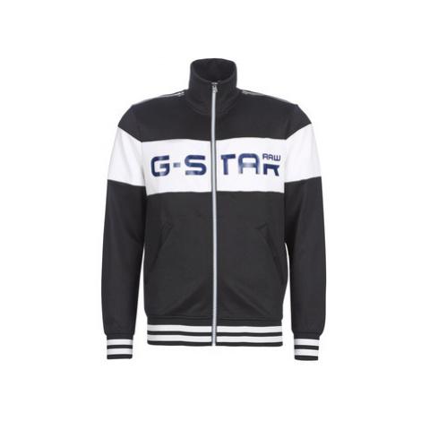 G-Star Raw ALCHESAI SLIM TRACKTOP SW men's Tracksuit jacket in Black