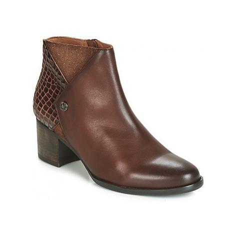 Mam'Zelle ILAT women's Low Ankle Boots in Brown