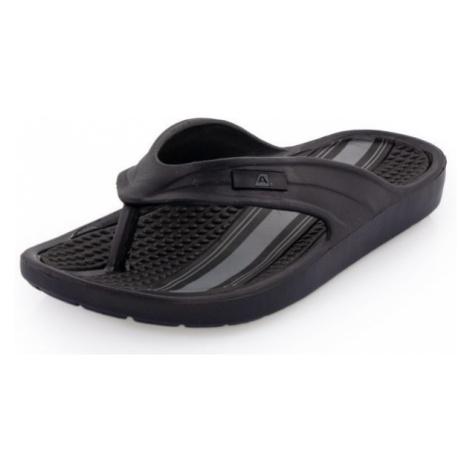 ALPINE PRO GLATIR black - Men's flip-flops