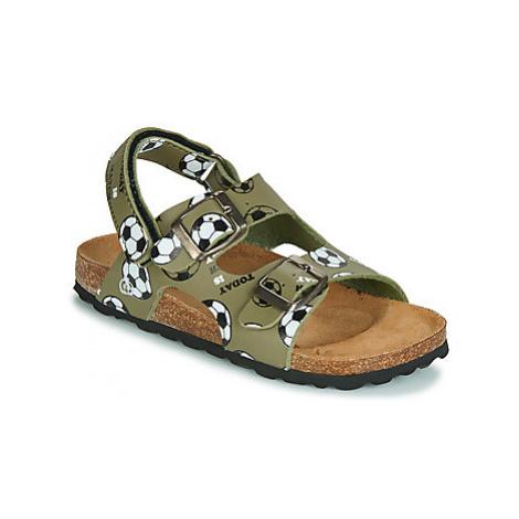 Citrouille et Compagnie KELATU boys's Children's Sandals in Kaki