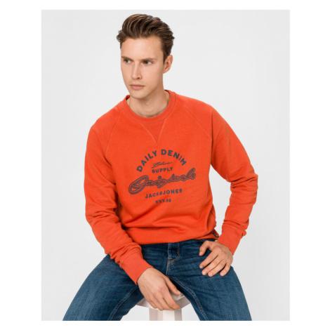 Jack & Jones Reuben Sweatshirt Orange