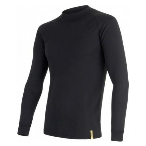 Sensor BLACK ACTIVE DR M black - Men's functional T-shirt