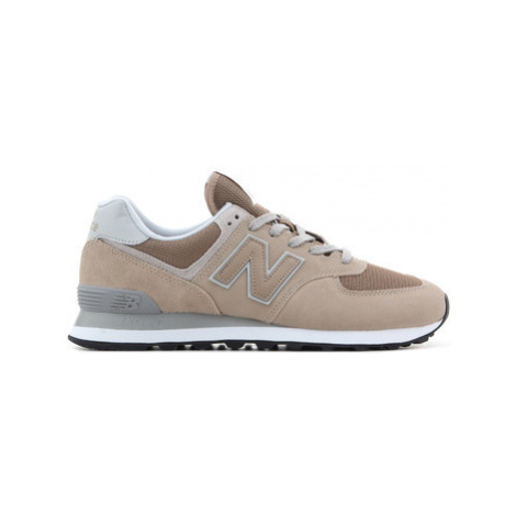 New Balance ML574EBE men's Shoes (Trainers) in Brown