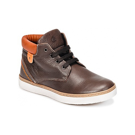 Citrouille et Compagnie HOSETTE boys's Children's Shoes (High-top Trainers) in Brown