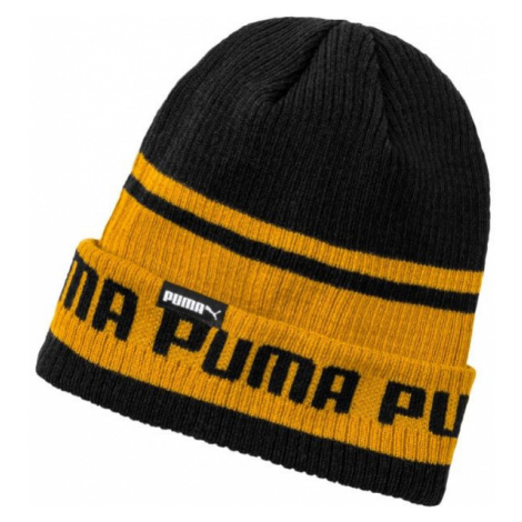 Puma ARCHIVE STRIPE BEANIE brown - Knitted hat