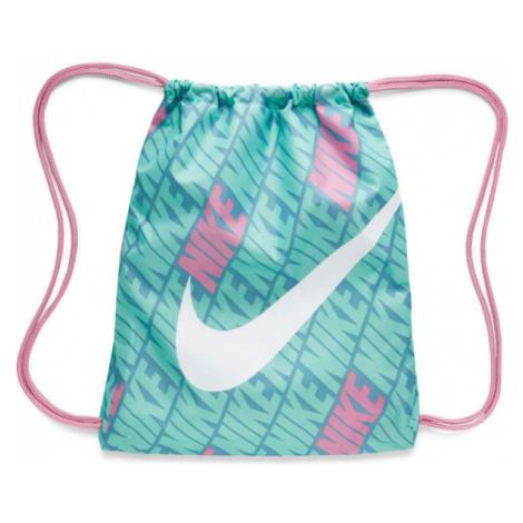 Nike KIDS PRINTED GYM SACK blue - Children's gymsack