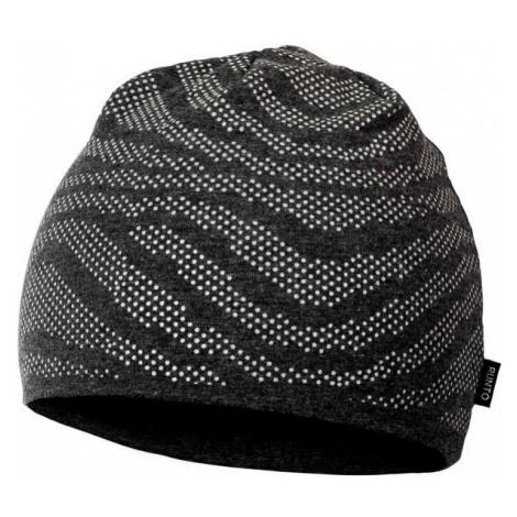 Runto RT-CAP-CAMOUFLAGE dark gray - Kids' winter hat