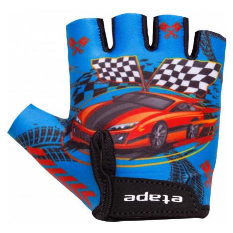 Etape TINY blue - Kids' cycling gloves