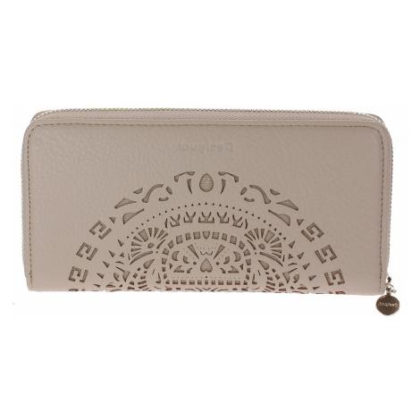 wallet Desigual 20SAYP17/Tribal Around Zip - 1008/Crudo Beige - women´s