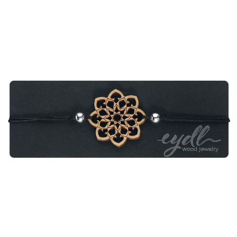 Eydl Wood Jewellery - Mandala - Bracelet - black
