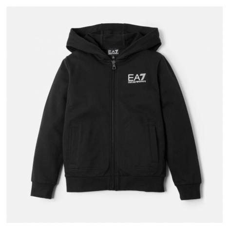 Emporio Armani EA7 Boys' Full Zip Hoody - Black