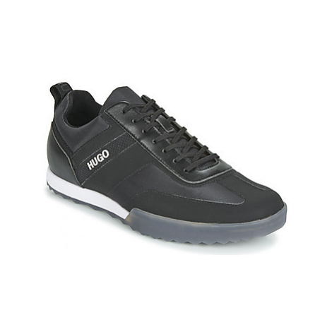 HUGO MATRIX LOWP NYLT men's Shoes (Trainers) in Black Hugo Boss
