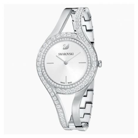 Eternal Watch, Metal bracelet, White, Stainless steel Swarovski