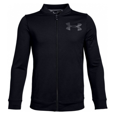 Under Armour PENNANT JACKET black - Boys' jacket