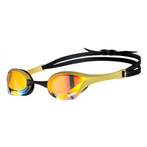 Arena COBRA ULTRA SWIPE MIRROR yellow - Swimming goggles