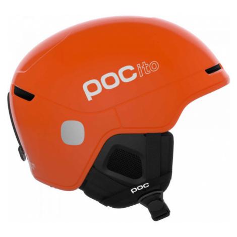 POC POCito OBEX SPIN orange - Kids' ski helmet