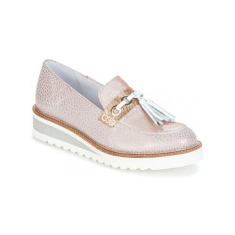 Regard RALARU women's Loafers / Casual Shoes in Pink