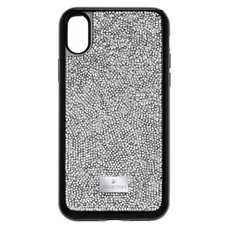 Glam Rock Smartphone Case with integrated Bumper, iPhone® X/XS, Grey Swarovski
