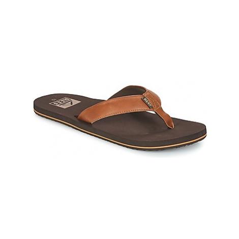 Reef REEF TWINPIN men's Flip flops / Sandals (Shoes) in Brown