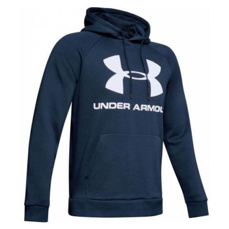 Under Armour RIVAL FLEECE SPORTSTYLE LOGO HOODIE blue - Men's hoodie