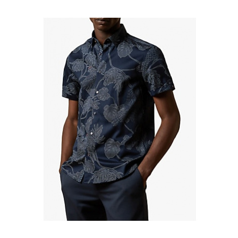 Ted Baker Downdog Short Sleeve Floral Shirt