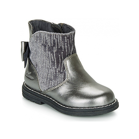Chicco CORRY girls's Children's High Boots in Grey