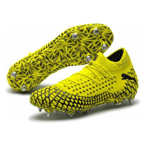 Puma FUTURE 4.1 NETFIT MXSG yellow - Men's football boots