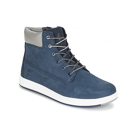Timberland Davis Square 6 Inch Boot girls's Children's Shoes (High-top Trainers) in Blue