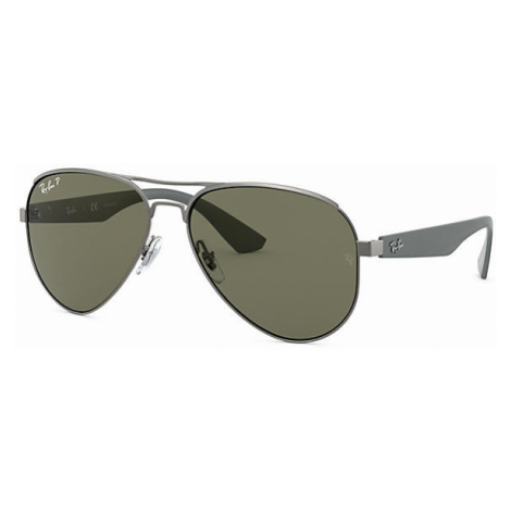 Ray-Ban Rb3523 Man Sunglasses Lenses: Green Polarized, Frame: Grey - RB3523 029/9A 59-17
